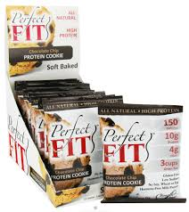 boundless nutrition perfect fit protein cookie chocolate chip 1 41 oz at luckyvitamin