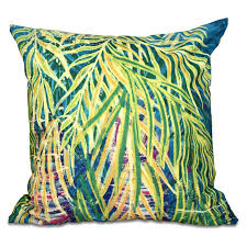 Beach Design Pillows E By Design Beach Vacation Malibu Decorative Pillow