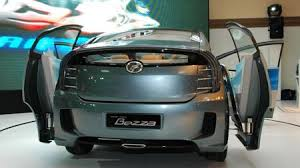 perodua new release carPerodua Bezza concept  a peek into the P2 future