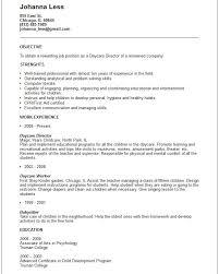 Church Nursery Worker Sample Resume Classy 48 Good Daycare Worker Resume Fm I48 Resume Samples