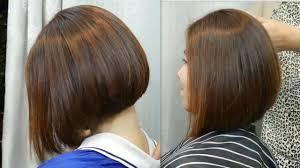 Bob Hair Cut Tutorial Beautiful ตดผมบอบเท ทย ทย видео