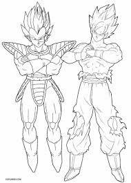 dragon ball z coloring pages elegant coloring book and pages dbz ve a coloring pages linedbz