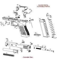 Glock Lube Chart Glock Lube Points On Cdcr Glock 22 Parts Diagram Glock Gen 5