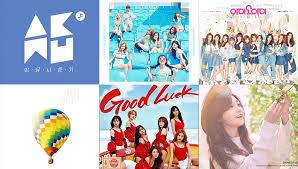 Weekly K Pop Music Chart 2016 June Week 1 Soompi