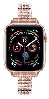 Apple Rose Gold <b>Luxury</b> Custom Sparkling <b>Crystals</b> Iwatch ...
