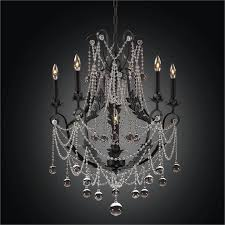 black iron chandelier beaded chandelier cau chic 602bd6lmi 7c