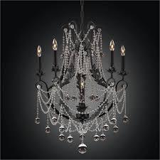 black iron chandelier beaded chandelier cau chic 602bd6lmi 7c