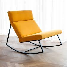 Modern Rocking Chair Gus Modern Gt Citrine Rocker Eurway Furniture