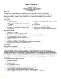 Manufacturing Technician Resume – Armni.co