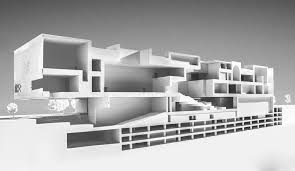 American House Model Design Gallery Of Harry Gugger And Over Under Design Museum To