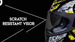 Smk Twister Zest Gloss Helmet