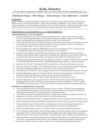 Sample Resume Office Manager Construction Company Valid Construction