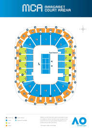52 Reasonable Melbourne Rod Laver Arena Seating Chart