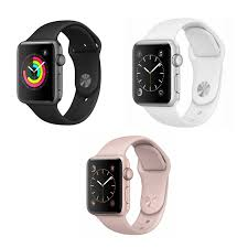 Apple Watch Series 3 38mm GPS - Gold, Space Gray, or Silver - TekReplay