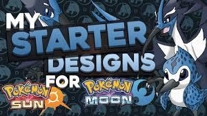 Pokemon Sun And Moon Design Starter Concept Designs For Pokemon Sun And Moon Water Type