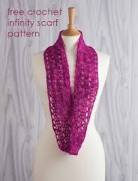 Free Infinity Scarf Crochet Pattern Interesting Crochet Infinity Scarf Pattern Free Crochet And Knit