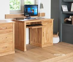 mobel oak wall rack cor07b. Mobel Oak Single Pedestal Computer Desk Wall Rack Cor07b
