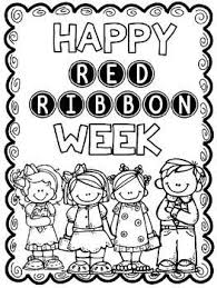 Red Ribbon Color Pages Red Ribbon Color Page Magdalene Project Org