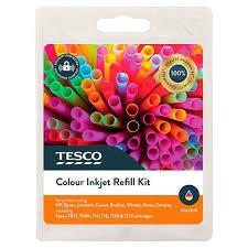 Tesco Colour Ink Refill Kit