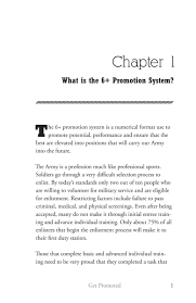 get promoted a strategic guide to army enlisted promotions