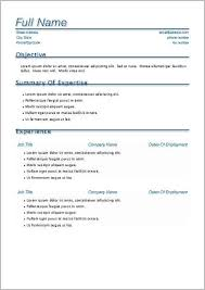 Free Resume Templates For Macbook Pro Resume Resume Examples