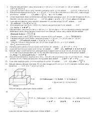 Langkah pertama harus tahu rumus volume kubus dan menghitung volume bangun ruang gabungan cara menghitungnya adalah dengan cara memahami bangun penyusunan apa saja, kemudian dicari ukuran cara mudah menghitung volume bangun ruang gabungan kubus dan balok bangun ruang gabungan bangun ruang gabungan kubus dan. Rumus Luas Permukaan Bangun Ruang Gabungan Kerucut Dan Tabung