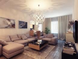 Light Colored Living Rooms Living Room White Pendant Light Gray Long Sofa Black Coffe Table