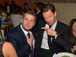 oscar parties benedict cumberbatch hams it up rita ora performs james corden and benedict cumberbatch at the weinstein company s academy awards nominees dinner hosted by