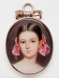 th grade american literature page english mrs pierce emanuel thomas peter n 1799 1873 a young girl pink hair ribbons ca