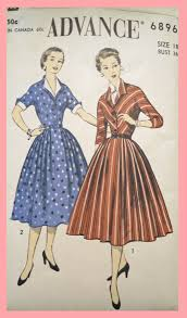 1950s Dress Patterns Simple Three Fabulous 48s Dress Patterns Edelweiss Patterns Blog