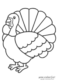 Surprise Turkey Color Sheet Coloring Page Free Large Images Adult