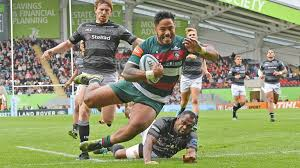 manu s leap to score against newcastle falcons was chosen as the tigers image of the season by supporters