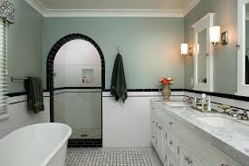 traditional white bathroom ideas. Vintage Black And White Bathroom Ideas Traditional With Tiled Floor Fl .