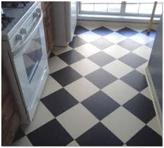 Choosing Kitchen Flooring Kitchen Interesting Linoleum Kitchen Flooring Ideas In Black And
