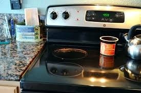 how to clean flat top stove protective cooking pads for glass top stoves how to clean