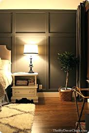 pictures of accent walls adding a dark gray accent wall and board and batten to the