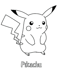 Pikachu Printable Coloring Pages At Getdrawingscom Free For