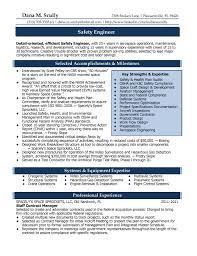 Best Ideas Of Process Safety Engineer Sample Resume Resume Cv