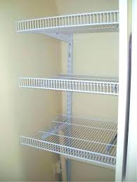 metal closet shelving wire shelf for closet wire closet shelving closet shelving wire shelf closet installing