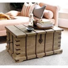 kashmir tan storage trunk