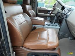 Tan/Castaño Leather Interior 2008 Ford F150 King Ranch SuperCrew ...