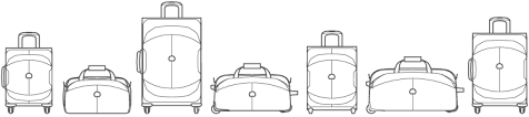 Delsey Luggage Size Chart Delsey Paris Delsey Tips The Right Size For Your Suitcase