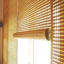 bamboo roller brown blind for outdoor