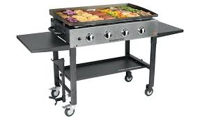 outdoor gourmet 18 stainless steel griddle front cooking station