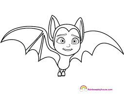 Vampirina Coloring Pages 262 Drawing And Her Friend Coloring Pages