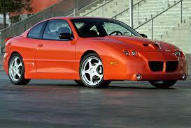 Pontiac Sunfire history, photos on Better Parts LTD