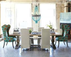 dining table with diffe chairs natural dining table upholstered dining chairs eclectic dining room dining room