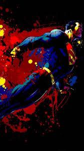 superman graphitti phone wallpaper 576x1024