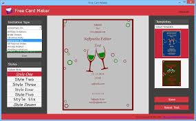 Invitation Maker Software Free Download Download Free Card Maker 1 0 0 0