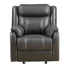 leather recliner chairs on sale. Perfect Recliner Valor Carbon Gray Gliding Recliner  Domino Intended Leather Chairs On Sale A